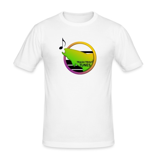 Trash Trout Tunes - Herre Slim Fit T-Shirt