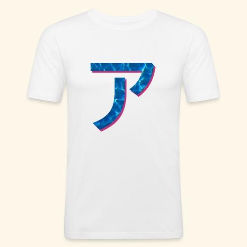 ア logo - T-shirt près du corps Homme