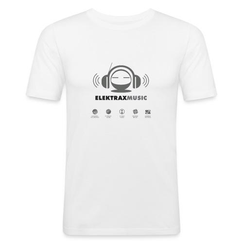 brandelektraxmusicallstarsonyellow - Men's Slim Fit T-Shirt