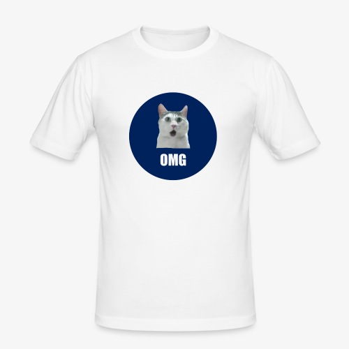 OMG - Men's Slim Fit T-Shirt