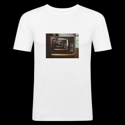Tv - T-shirt près du corps Homme