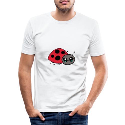 Pirouette la coccinelle - T-shirt près du corps Homme