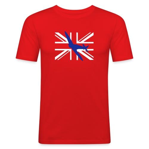 ukflagsmlWhite - Men's Slim Fit T-Shirt