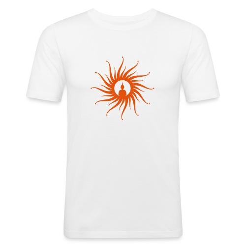 Buddha Sun - Männer Slim Fit T-Shirt