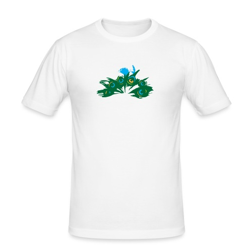 Paon Style - T-shirt près du corps Homme