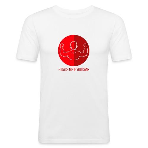 Muscle Rouge - T-shirt près du corps Homme