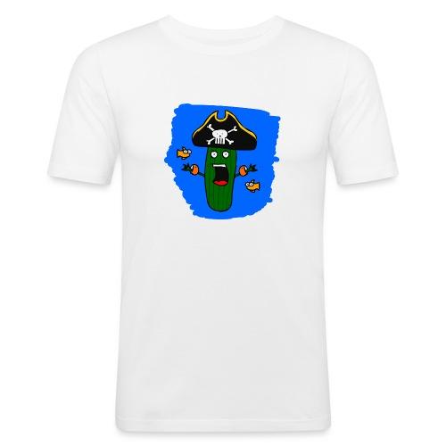 Seegurke - Männer Slim Fit T-Shirt