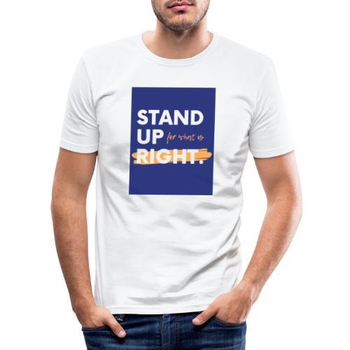 03723A0F FC04 4886 ACEC BB0A8F7400D9 - Men's Slim Fit T-Shirt