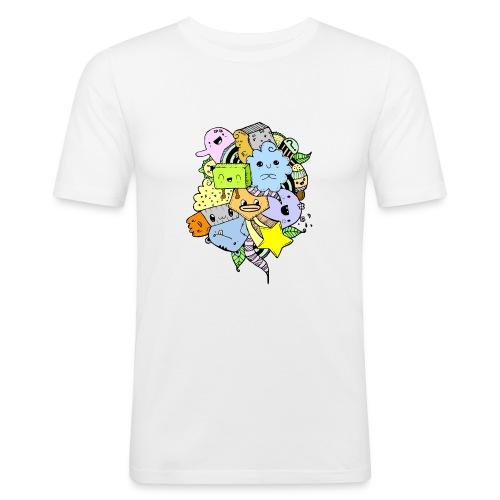 Doodle Art - Camiseta ajustada hombre