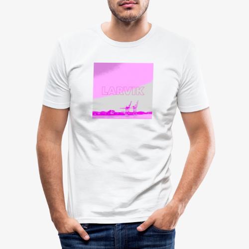 LARVIK - Slim Fit T-skjorte for menn