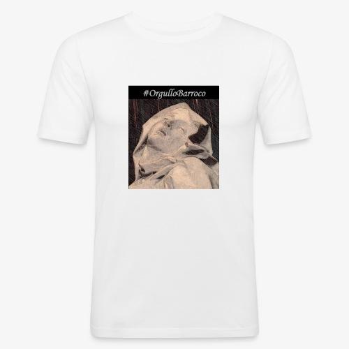 #OrgulloBarroco Teresa dibujo - Camiseta ajustada hombre