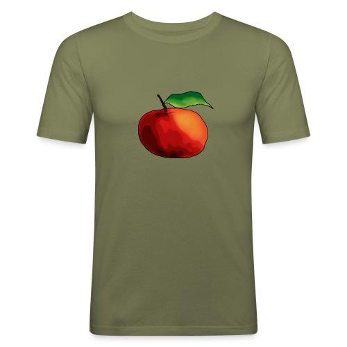 mela-png - Maglietta aderente da uomo