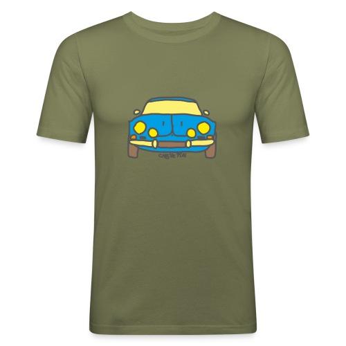 Voiture ancienne mythique française - T-shirt près du corps Homme