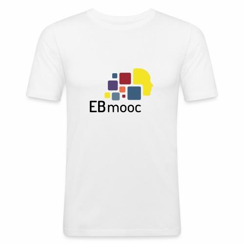 EBmooc Logo - Männer Slim Fit T-Shirt
