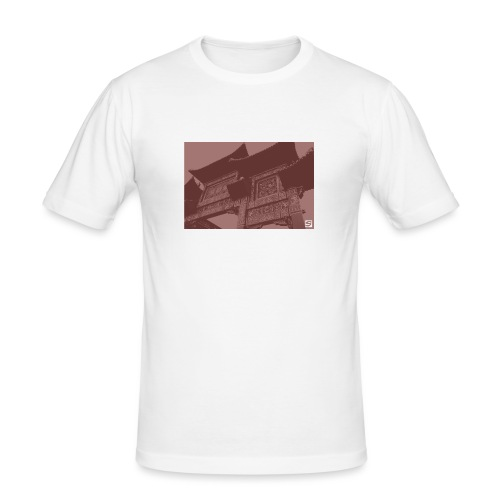 Scouse Chinatown / Blood - Men's Slim Fit T-Shirt