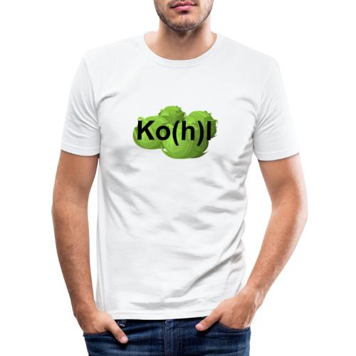 Ko(h)l - Männer Slim Fit T-Shirt