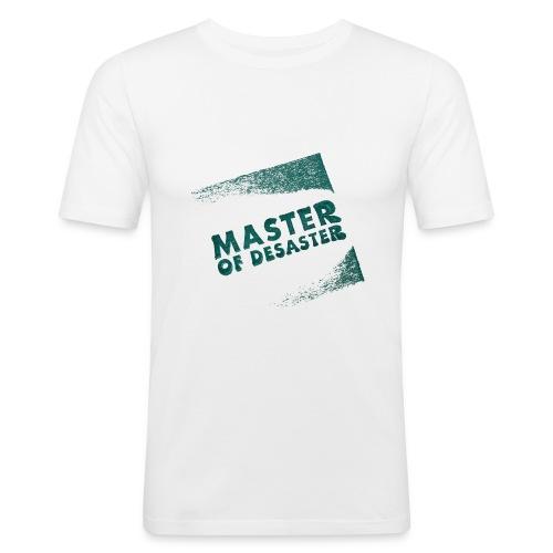 master of desaster - Männer Slim Fit T-Shirt