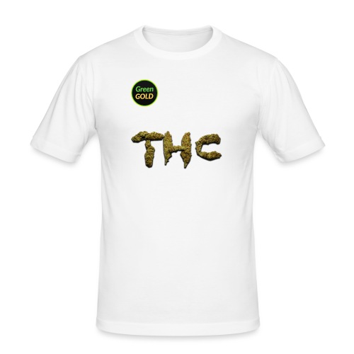 Green Gold THC - Men's Slim Fit T-Shirt
