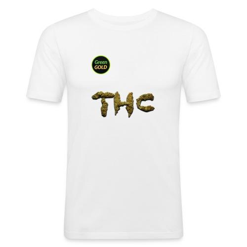 Green Gold THC - Men's Slim Fit T-Shirt