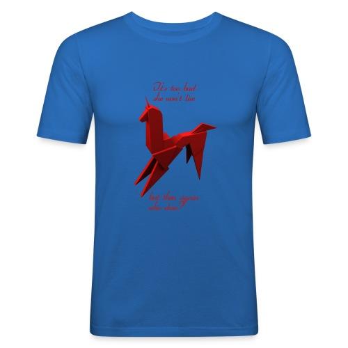 UnicornioBR2 - Camiseta ajustada hombre