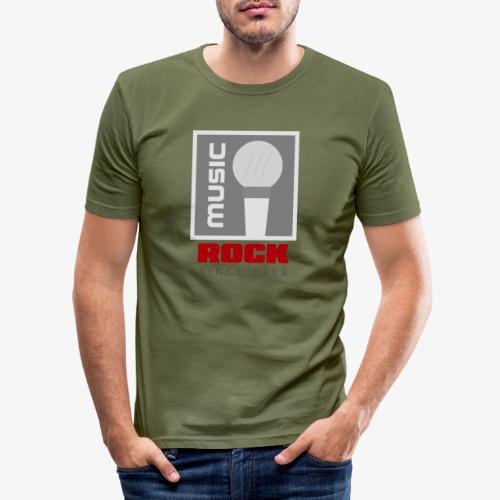 MUSIC 004R - Camiseta ajustada hombre