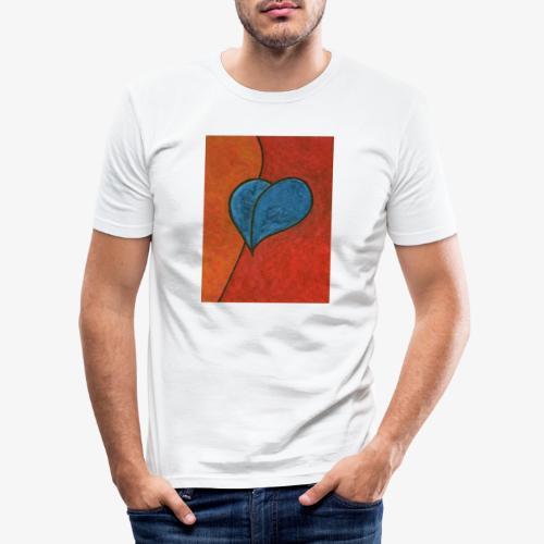 Czekam - Obcisła koszulka męska