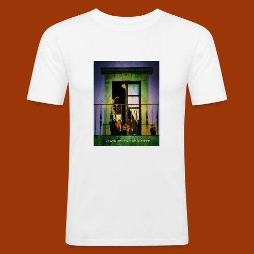 Windows in the Heart - Men's Slim Fit T-Shirt