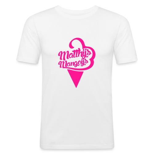 Matthijs Mangoijs Pink Women - Mannen slim fit T-shirt