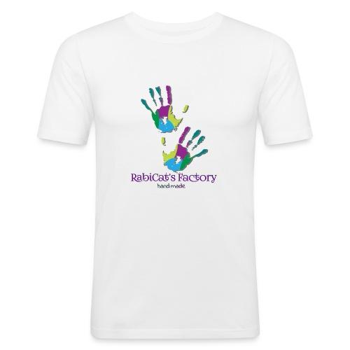 rabicat_mani - Maglietta aderente da uomo