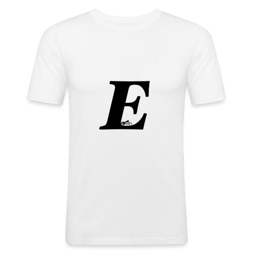 E alphabet - Men's Slim Fit T-Shirt