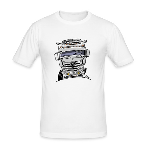 0807 M truck wit - slim fit T-shirt