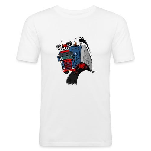 The flying skane man notext - slim fit T-shirt