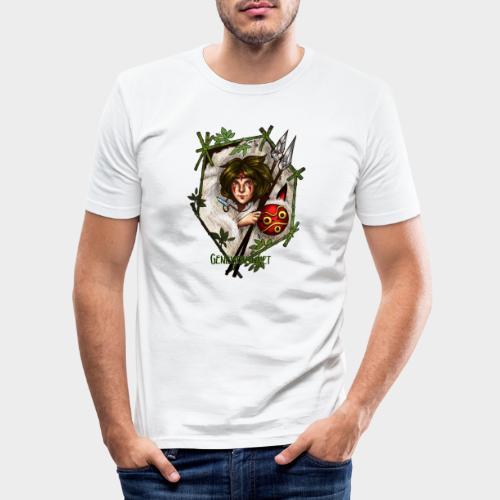 Geneworld - Mononoke - T-shirt près du corps Homme