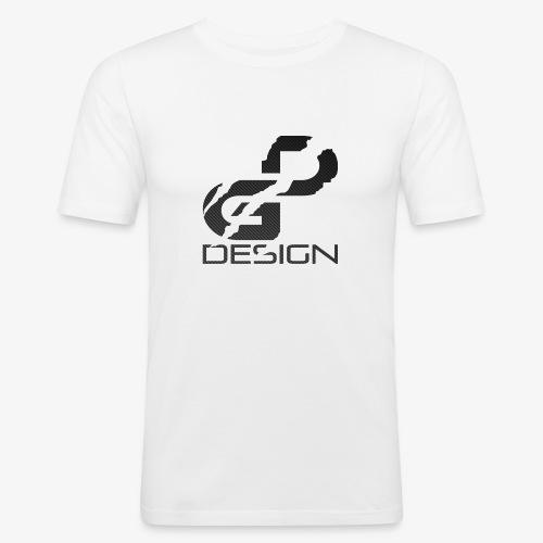 logo dg carbon - T-shirt près du corps Homme