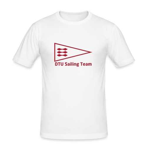 DTU Sailing Team Official Workout Weare - Men's Slim Fit T-Shirt