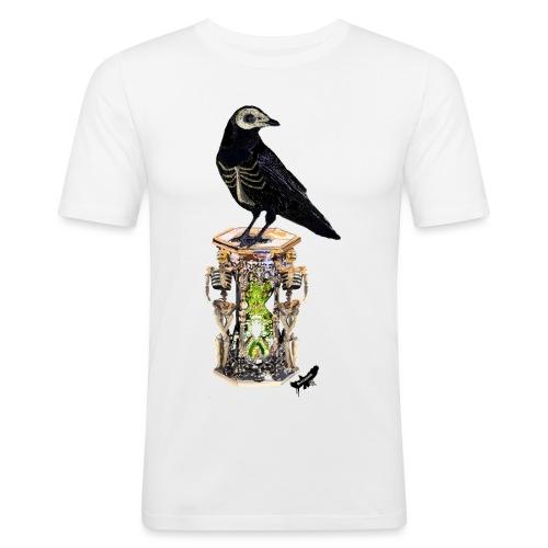 'Memento Mori' by BlackenedMoonArts - Herre Slim Fit T-Shirt