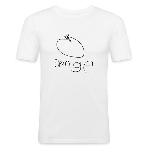 orange - Men's Slim Fit T-Shirt