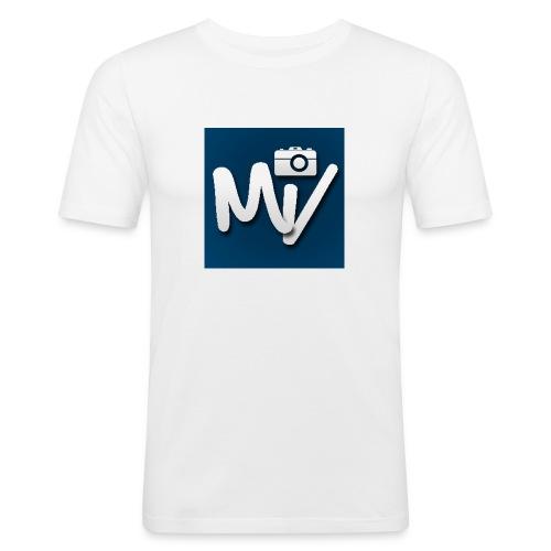 Maxvlogs T-shirt - Mannen slim fit T-shirt