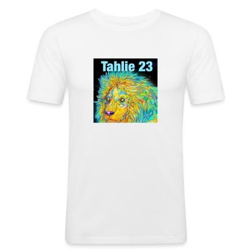 Tahlie 23 lion logo - Men's Slim Fit T-Shirt