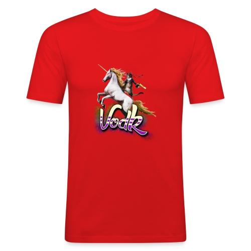 VodK licorne png - T-shirt près du corps Homme