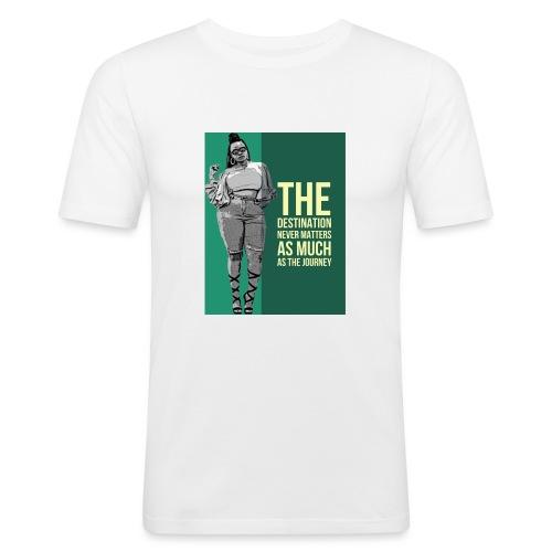 girlquote - T-shirt près du corps Homme