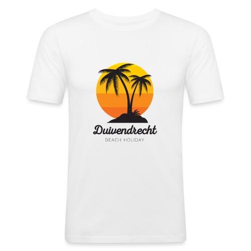 Duivendrecht - Mannen slim fit T-shirt