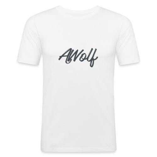 Sign AJWolf - Men's Slim Fit T-Shirt