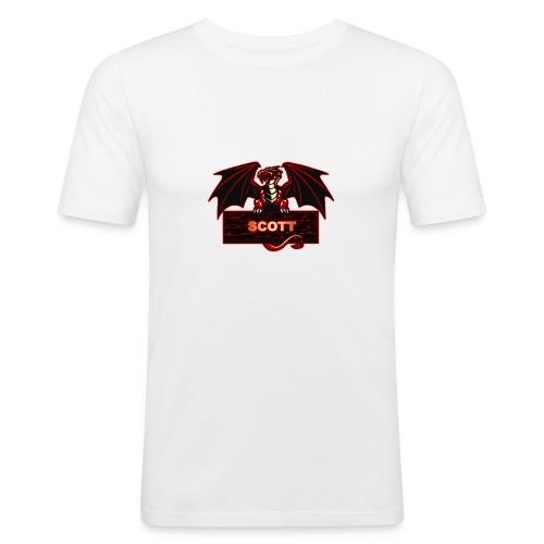 SCOTT_0001_SCOTT - Men's Slim Fit T-Shirt