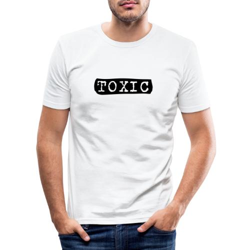 toxisch toxic - Männer Slim Fit T-Shirt