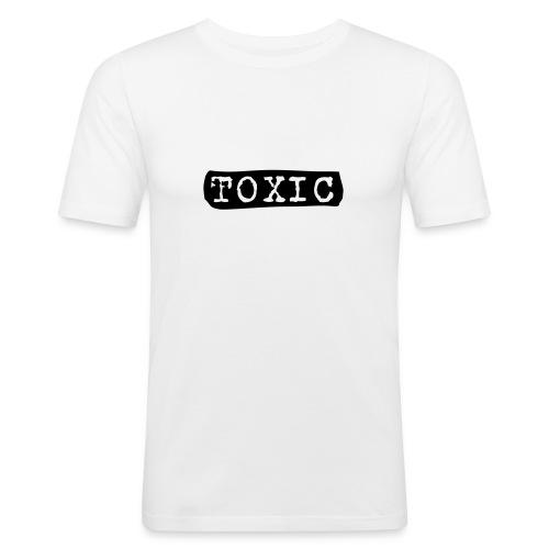 toxisch - Männer Slim Fit T-Shirt