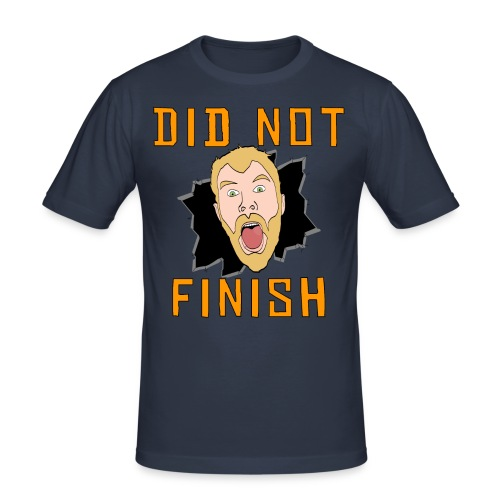 Did Not Finish - Men's Slim Fit T-Shirt