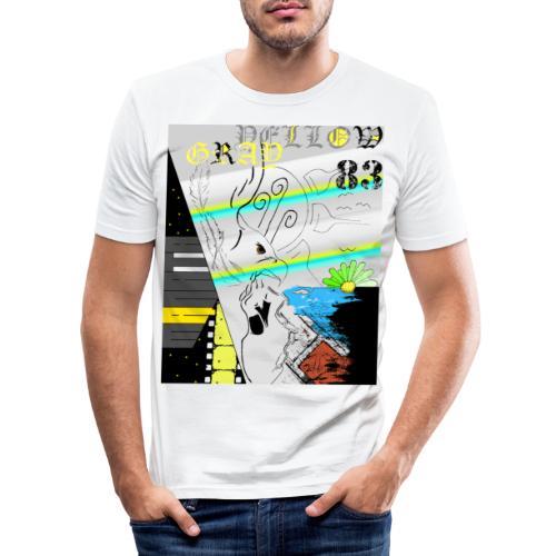 KASI3 - Miesten tyköistuva t-paita