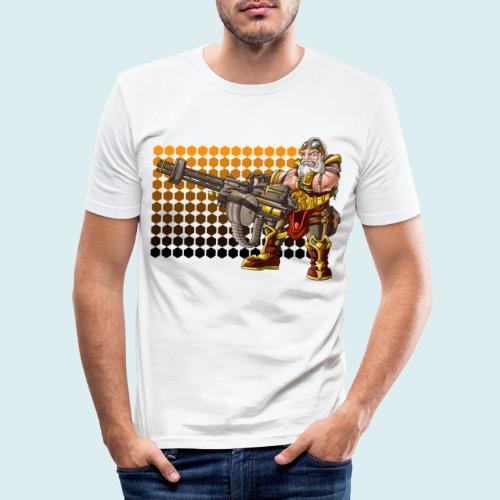 rage dwarf - Maglietta aderente da uomo