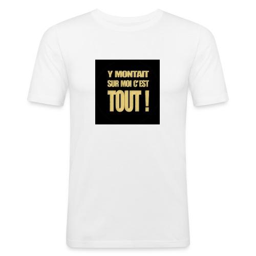 badgemontaitsurmoi - T-shirt près du corps Homme